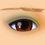 real-eye-with-css-sfumato